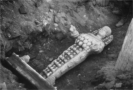 The Moment of Discovery (1956) - Statue of Artemis -  Temple of Artemis - Ephesus, Turkey